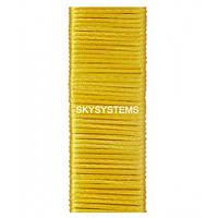 Шелковый шнур гладкий   1.0 мм Цвет: Желтый 21