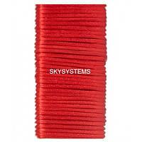 Шелковый шнур гладкий   1.0 мм Цвет: Красный 30