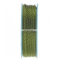Шелковый шнур Милан 301 | 3.0 мм Цвет: Зеленый 09