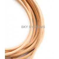 3,0 мм Кожаный шнурок   Цвет: Телесный