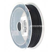 1.5 мм Гладкий вощеный шнур | Цвет: Черный