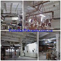 Покраска склада, цеха,ангара, пром помещений от15грн за м кв. Сумы и область