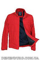 Куртка мужская тонкая TOMMY HILFIGER 2121 красная, фото 1