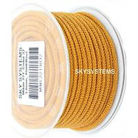 Шелковый шнур Милан 221 | 3.0 мм Цвет: Песочный 32