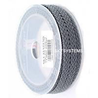 Шелковый шнур Милан 915 | 1.5x6.0 мм Цвет: Серый 14