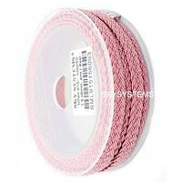 Шелковый шнур Милан 915 | 1.5x6.0 мм Цвет: Розовый 03