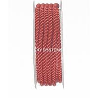 Шелковый шнур Милан 226 | 4.0 мм, Цвет: Красный 30