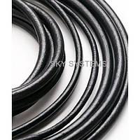 2,5 мм Кожаный шнурок | Цвет: Черный (Испания)