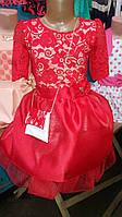 Модное детское платье летнее