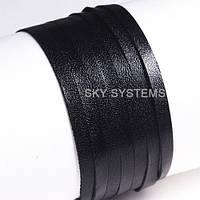 Кожаная лента | 5,0 х 0,7 мм, Цвет: Черный