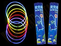 Светящиеся неоновые браслеты. В упак: 100шт.
