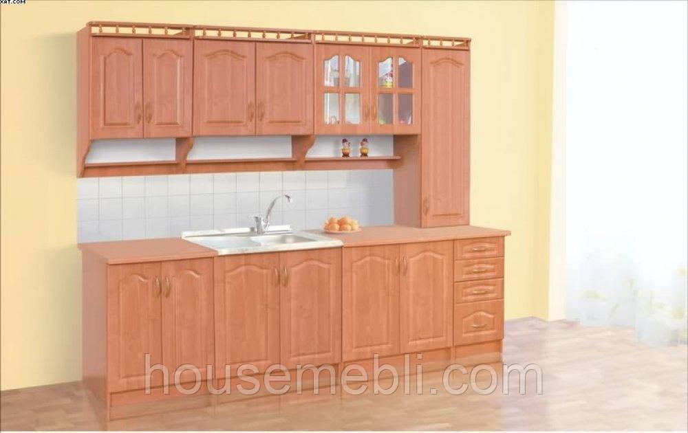 Кухня КОРОНА 2,6 с пеналом Мебель сервис
