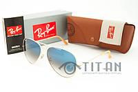 Солнцезащитные очки RB 3026 Aviator Large Metall, фото 1