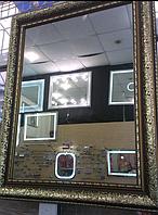 Зеркало в раме 800*1000, ширина багета 9 см