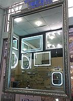 Зеркало в раме 700*900, ширина багета 9 см
