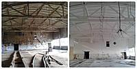 Покраска склада, цеха,ангара, пром помещений от15 грн за м кв. Херсон и область