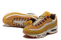 Кроссовки мужские Nike Air Max 95 PRM Wheat/Cream (найк аир макс 95)