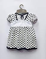 Трикотажное платье Маленькое, интерлок