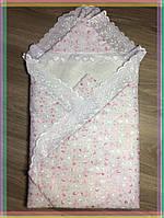 Конверт-одеяло на выписку летний