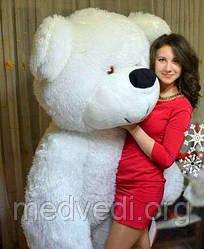 Мягкая игрушка медведь плюшевый белый 200 см, 2 метра