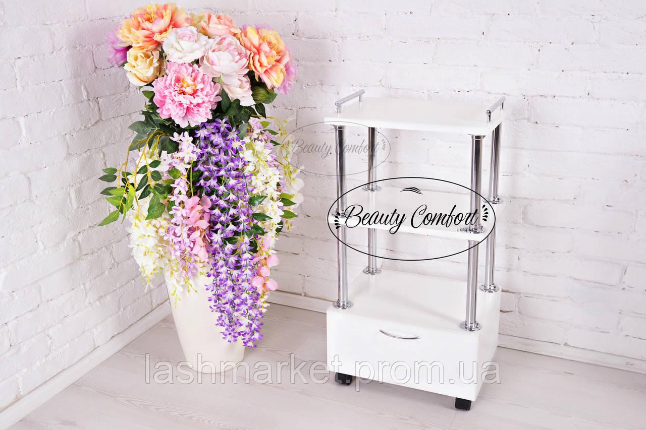 Візок майстра з висувною шухлядою(ТМ Beauty Comfort)