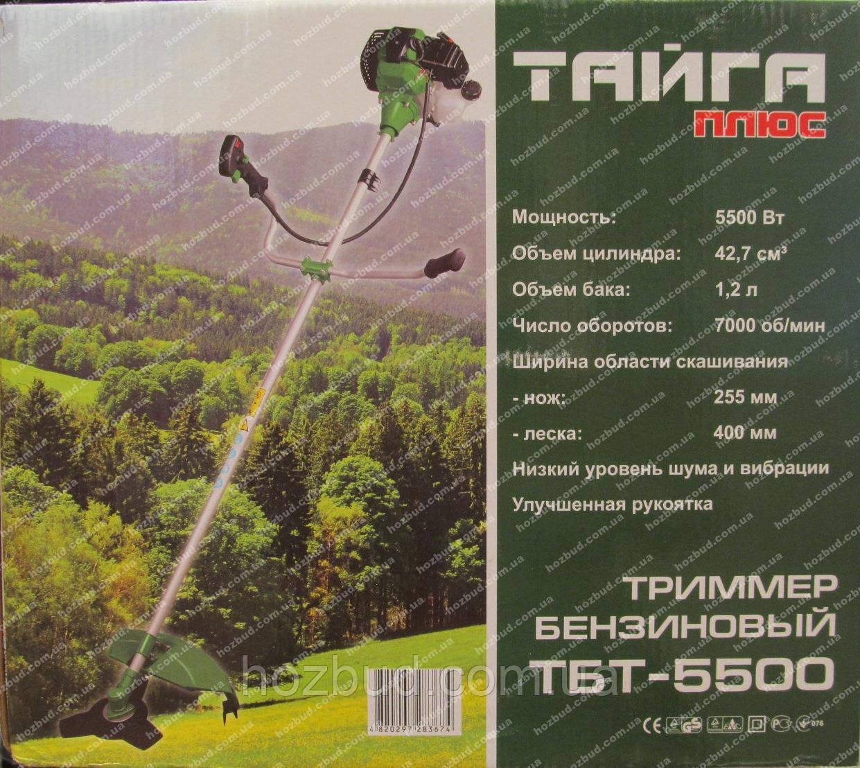 Бензокоса Тайга ТБТ-5500