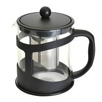 Чайник заварочный для чая, стеклянный, 1 л