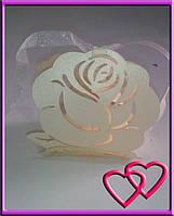 Свадебная бонбоньерка Роза