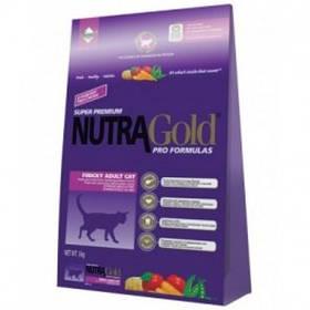 Nutra Gold Finicky Adult Cat для привередливых кошек, 1 кг