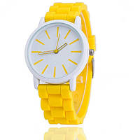 Часы женские наручные желтые
