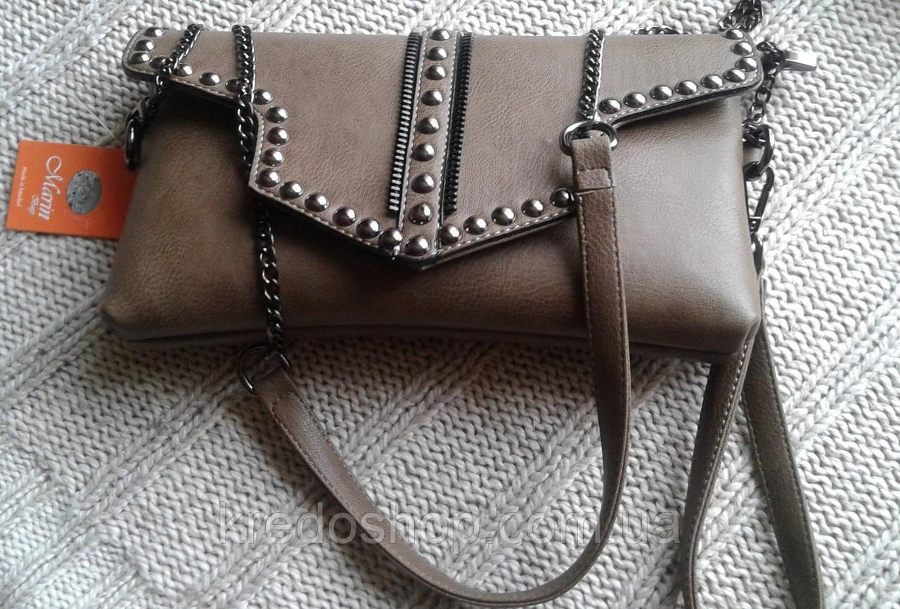 23afbd453446 Женский клатч молодежный стильный с заклепками(Турция) - Интернет-магазин  сумок и аксессуаров