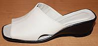 Летние женские сабо кожа, кожаная летняя обувь от производителя модель ВЛ69