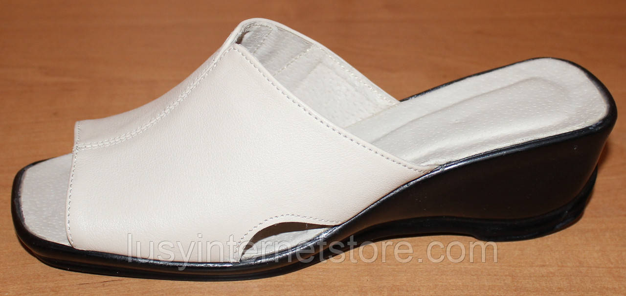 Летние женские сабо кожа, кожаная летняя обувь от производителя модель ВЛ69  - Lusy в Харькове 0d11aafe701