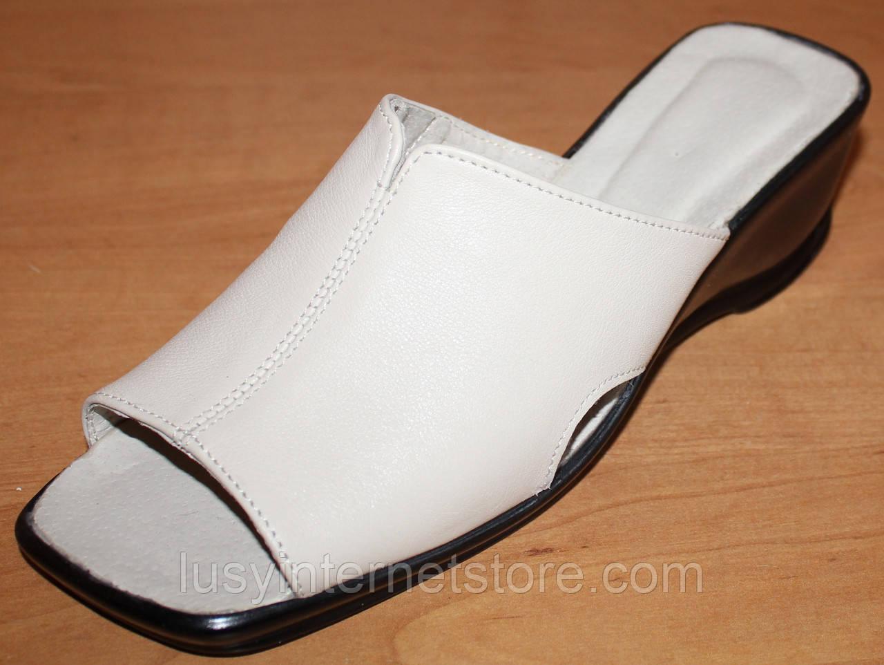 Летние женские сабо кожа, кожаная летняя обувь от производителя модель  ВЛ69, ... bf53a0e3571