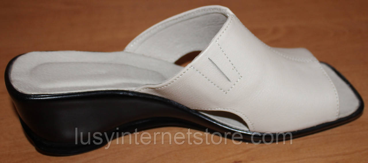 ... Летние женские сабо кожа, кожаная летняя обувь от производителя модель  ВЛ69, ... 6f5da9d7224