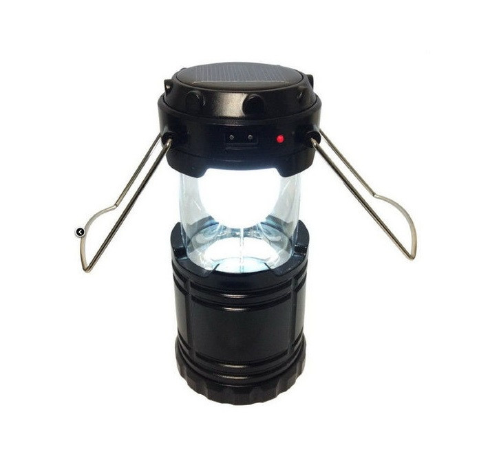 Фонарь-лампа на солнечной батарее G-85 Rechargeable Camping Lantern (кемпинговый фонарь)