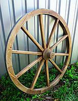 Колесо деревянное
