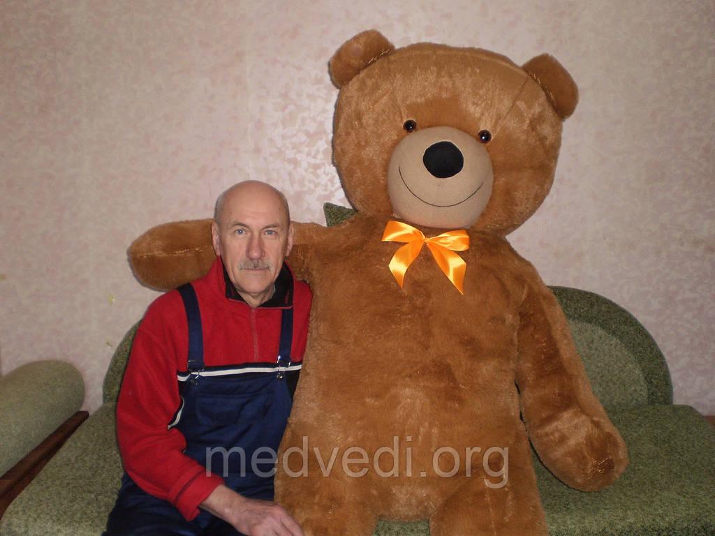 2.5 метра огромный плюшевый медведь, мишка 250см