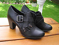 Женские  черные туфли  р37-39