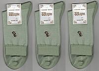 Носки мужские х/б с сеткой Шарм, 25 размер, олива