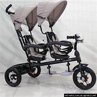 Детский велосипед Crosser TWINS AIR (двойня)бежевый