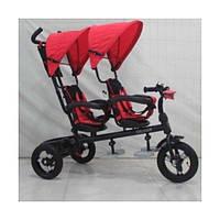 Детский велосипед Crosser TWINS AIR (двойня) красный