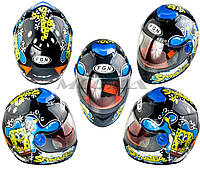 Шлем детский интеграл FGN (SPONGE BOB)