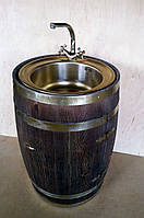 Умывальник из бочки h-80 см, фото 1