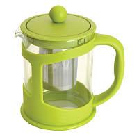 Чайник заварочный для чая, стекл., в подставке, 1000 мл
