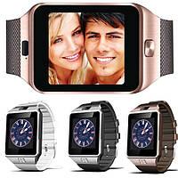 DZ09 Smart Watch умные часы телефон с камерой 2.0 Mpx