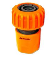 Коннектор со стопом для шланга 1/2-5/8 (orange)