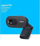 Logitech C270i IPTV - HD веб-камера для Android ТВ приставок, телевизоров, ноутбуков