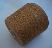 Millefili s.p.a. art. Eureka хлопок+лен 35/65, 1700 м, Бежево-серый меланж  924