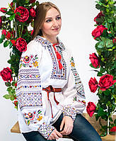 Вишиванка Сокальська кольорова (домоткане полотно)